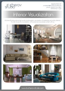 Interior design and visualization